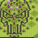 Clash of Clans.7 seviyye belediyye binasi.60 level oyun