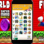 Get Super Mario Run All 6 World Unlock For FREE