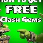 How To Get Free Gems On clash Of Clans. (LEGALLY)