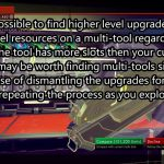 Multi-Tool Dismantling for Resource Exploit – No Mans Sky