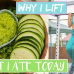 WHAT I ATE TODAY + WHY I LIFT WEIGHTS VLOGMAS DAY 5