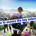 Game tutorial: watch dogs 2, how to access the key (prologue)