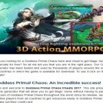 Goddess Primal Chaos Hack Cheats Codes for Android and iOS