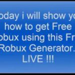 How to get Free Robux 2017 Live Tutorial for Android and IOS