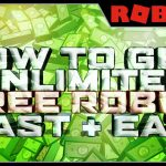 FREE ROBUX 2017 GLITCH HOW TO GET UNLIMITED FREE ROBUX IN ROBLOX 2017 NO DOWNLOAD – Roblox Tutorial