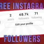 Free Instagram Followers – How To Get Free Instagram Followers