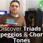 How To Play Triads, Arpeggios Chord Tones On The Bass Guitar