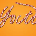 60 How To Create a Christmas Candy Text Effect in Illustrator
