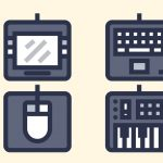 79 How to Create a Computer Peripherals Icon Set in Adobe Illustrator
