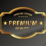 137 Create Premium Quality Golden Insignia 02 in Adobe Illustrator