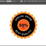173 SPEEDART Create Premium Quality Golden Insignia 03 in Adobe Illustrator