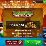 8 Ball Pool Hack, Unlimited Coins and Cash, No Verification Needed