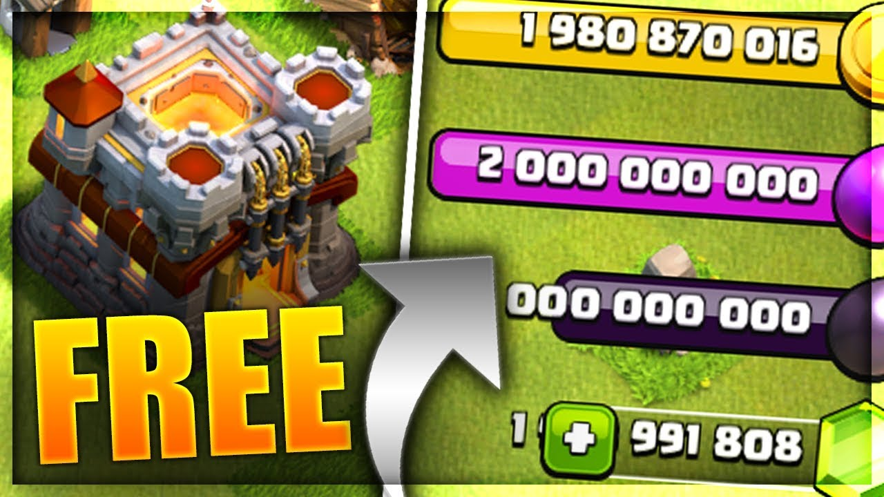 COC Hack - Get Unlimited Gems using Clash of Clans Hack ...