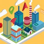 SPEEDARTCreate Isometric Style Smart City in Adobe Illustrator