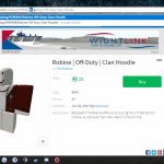 How to get clothing on Roblox for free