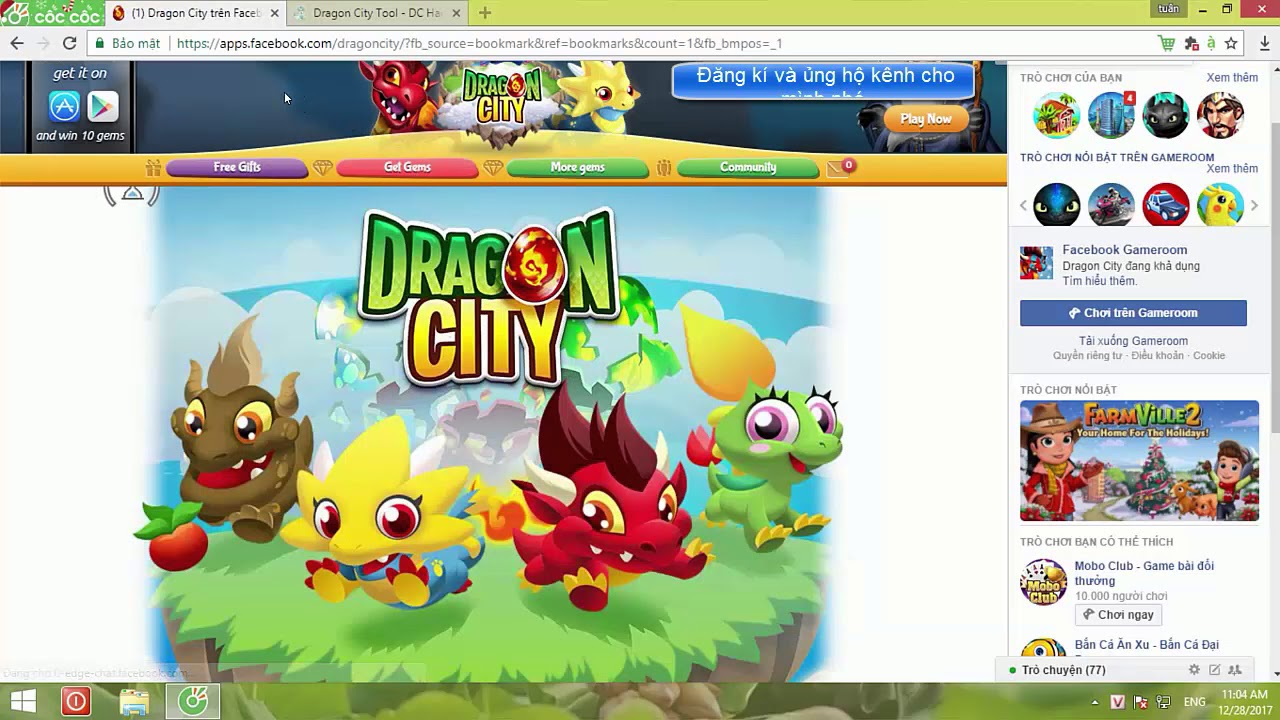 Ammco bus : Free facebook account with dragon city