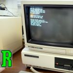 Tandy 1000 PC + CM-11 Monitor Unboxing Setup