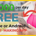 EARN 1,000 PER DAY FOR FREE WITH THIS IPHONE OR ANDROID MONEY MAKING APP 2018 EASY