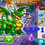 Dragon City – High Resolution Dragon Heroic Race Lap 15 completed 2018