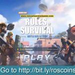 【ROS】 Rules of Survival Hack 2018 Cheat – How to Get Free Coins Diamonds for PCAndroidiOS