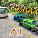 BeamNG Drive Fun with Traffic Tool (Realistic Traffic Accidents AI)