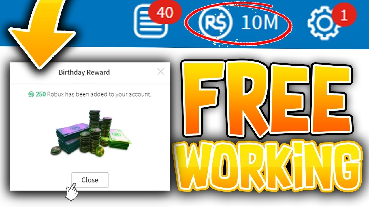 2019 NEW GLITCH 1 MILLION ROBUX FROM CHANGING BIRTHDAY HACK (Free