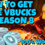 Free V Bucks Season 8 – How to Get Free V Bucks Glitch Guide NEW