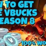 Free V Bucks Season 8 Tutorial – How to Get Free V Bucks Guide