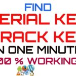 How to find the activation code, serial key of any software – must watch any software activate