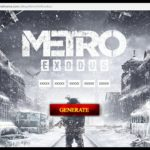 Metro Exodus steam keygen free key generator cd key
