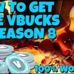 Free V Bucks Season 8 – How to Get Free V Bucks Glitch Tutorial