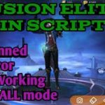 GUSION ELITE SKIN SCRIPT UPDATED Script V1.3.61 Patch esmeralda(100TESTED)