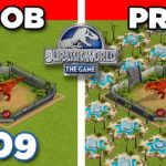 ARE YOU PRO OR ARE YOU NOOB?? Jurassic World – The Game – Ep409 HD