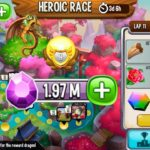 Dragon City New Heroic Race High Eternal Dragon – All Laps Completed Reward