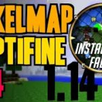 How to get VoxelMap OptiFine in Minecraft 1.14 – download and install VoxelMap OptiFine 1.14