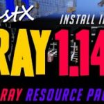 How to get X ray in Minecraft 1.14.2 – download install BeastX XRay 1.14.2 compatible resource pack