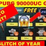 FREE 90000 PUBG UC GET FREE 90000 UC CASH HOW TO GET IT FREE? LIMITED TIME FREE PUBG UC GLITCH