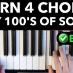 Learn 4 Chords – Quickly Play Hundreds of Songs EASY VERSION
