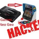Neo Geo mini hacked wSega Genesis Mini42games+6 Emu+artworks