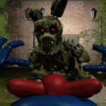 PLAY AS THE NEW SINISTER HACKED SPRINGTRAP FNAF Sinister Hacked 2
