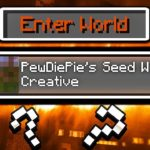 How To Download PewDiePies Minecraft World SEED FOR MCPE