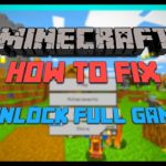 How To Fix Minecraft Windows 10 Edition Unlock Full Game Tutorial