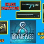 How to get Free coupons and Free emotes, Season 8 – new outfits and gun skins PUBG mobile