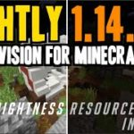 How to get Fullbright Texture Pack in Minecraft 1.14.3 – download install Nightly resource pack