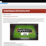 Football Manager 2020 Serial Key Product Tutorial