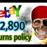 NEW Type of Returns Policy on eBay made 12,890 PROFIT