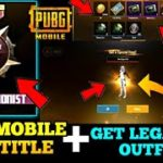 PUBG Mobile New Update Is Here Get Free Leganandry Outfits + Crate Coupons Get New Titles