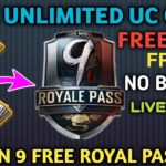 Free🔥 Unlimited PUBG UC HACK 0.13.5 SEASON 8 NO BANPUBG MOBILE UC HACK 10000 UNLIMITED UC HACKS.