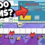 Growtopia Earning soo many WLS?? How to Profit 1