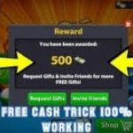 Get Free 8 ball pool 500 cash link back new method 100 working by MSFLIX